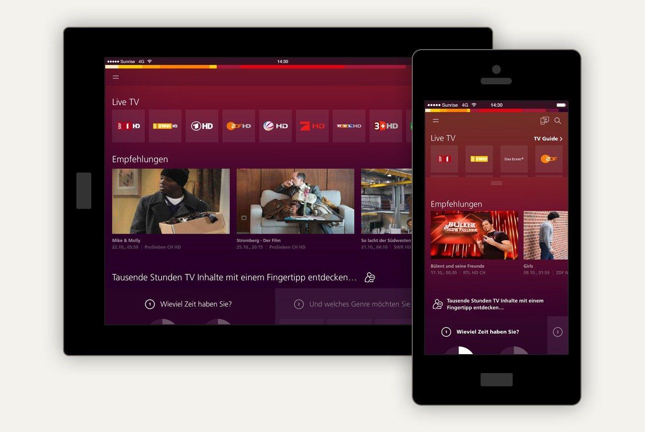 Lg Fernseher Mit Iphone Verbinden : App herunterladen und verbinden u2013 sunrise
