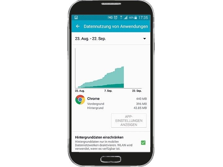 Android apps im hintergrund ausschalten