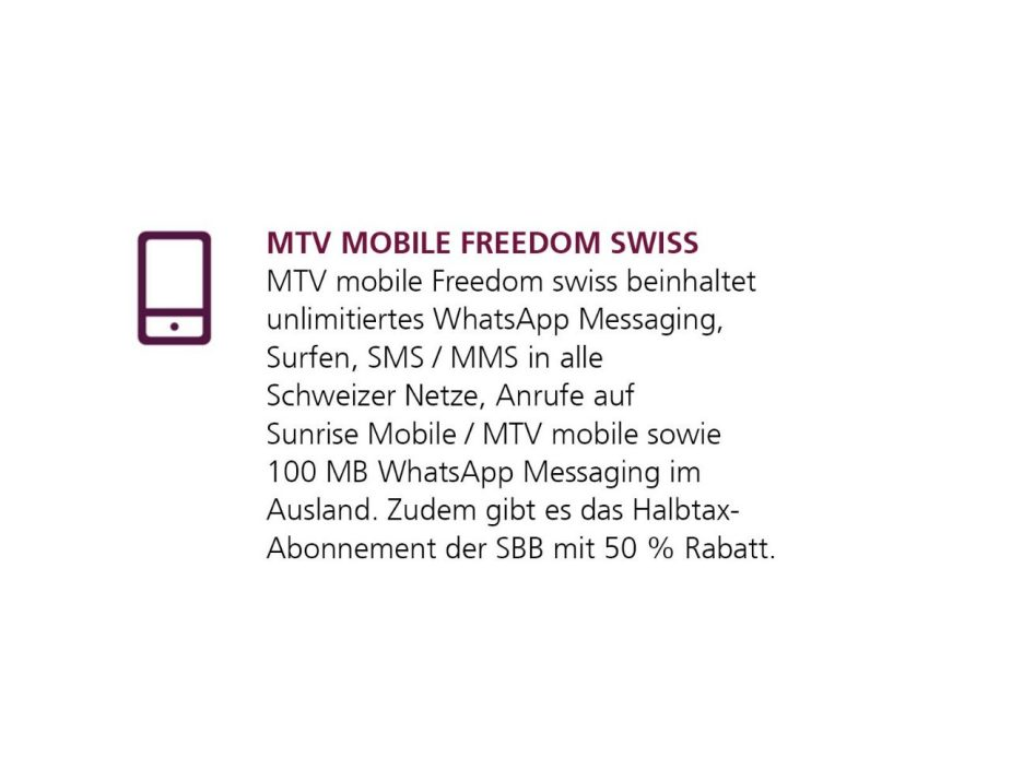 MTV mobile Freedom swiss