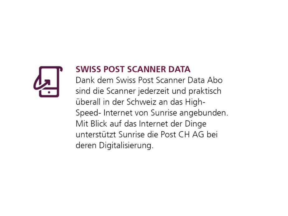 Swiss Post Scanner