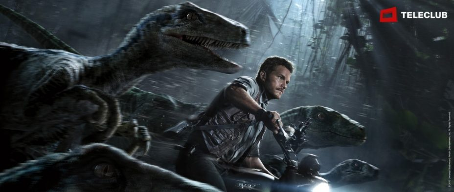 Jurassic World im Digital TV von Sunrise