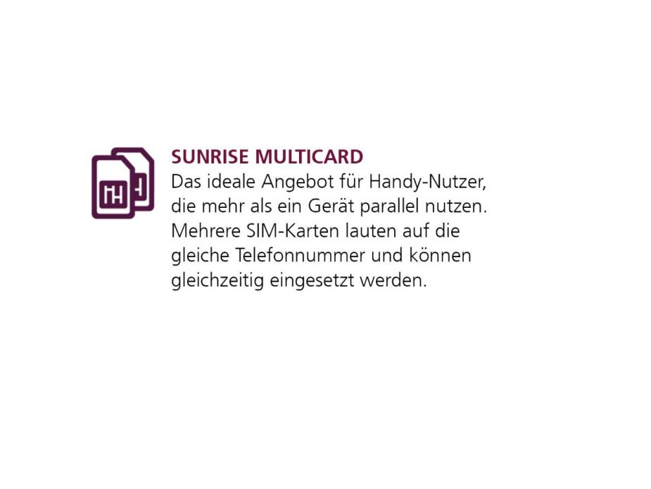 Sunrise Multicard