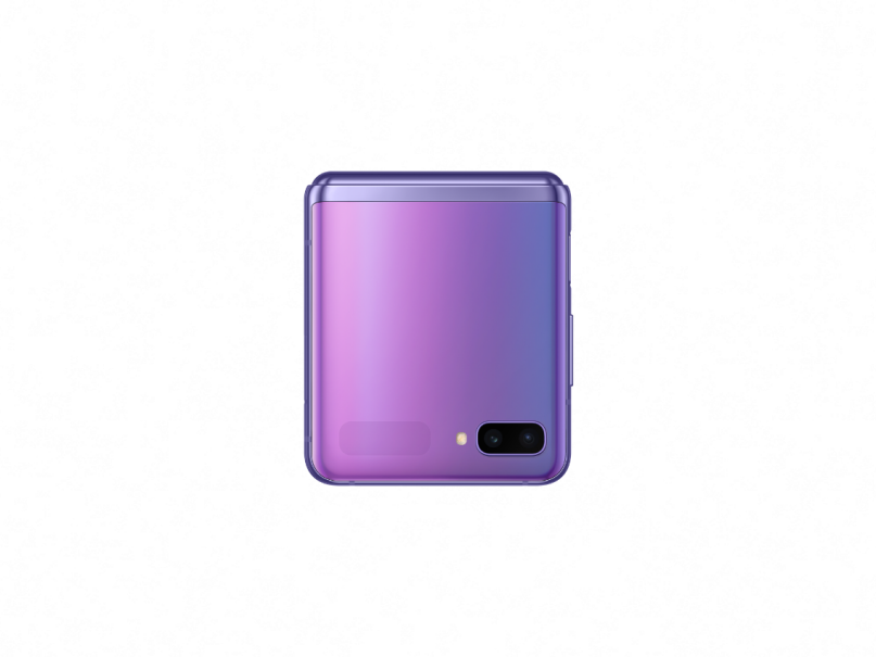 sm_f700f_galaxy z flip_closed front_purple mirror_191224