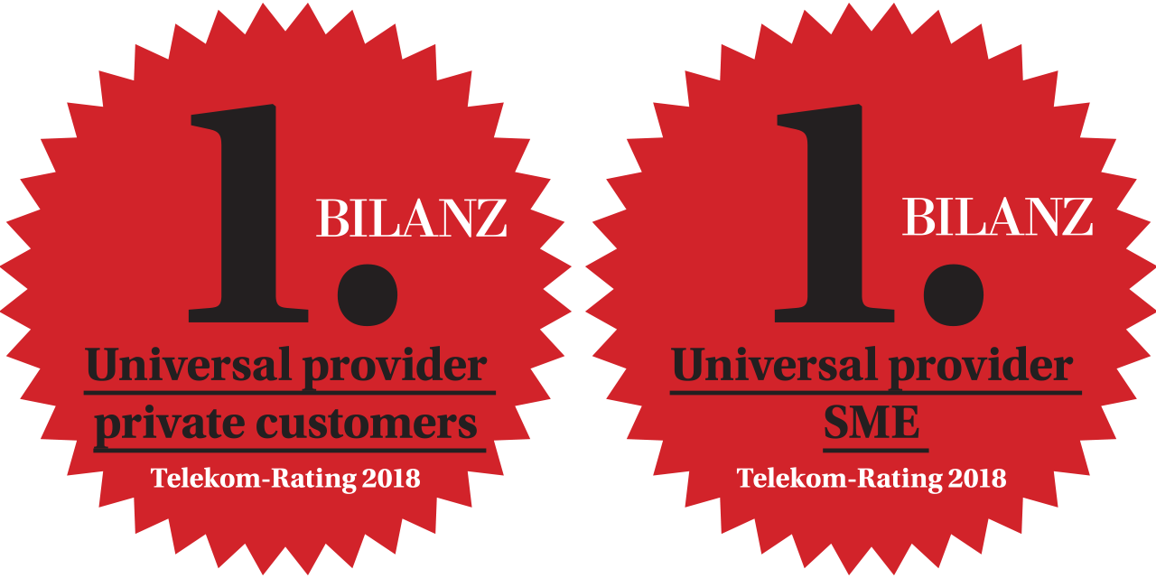556b5101932 Sunrise is the best universal provider for private customers and SMEs in  the BILANZ customer survey 2018